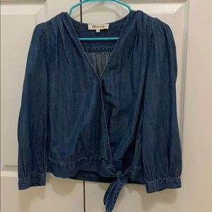 Madewell blouse.